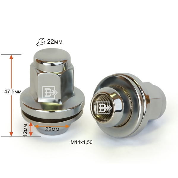 Toyota Nuts(Land Cruiser)